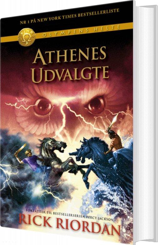 Billede af Olympens Helte 3 - Athenes Udvalgte - Rick Riordan - Bog