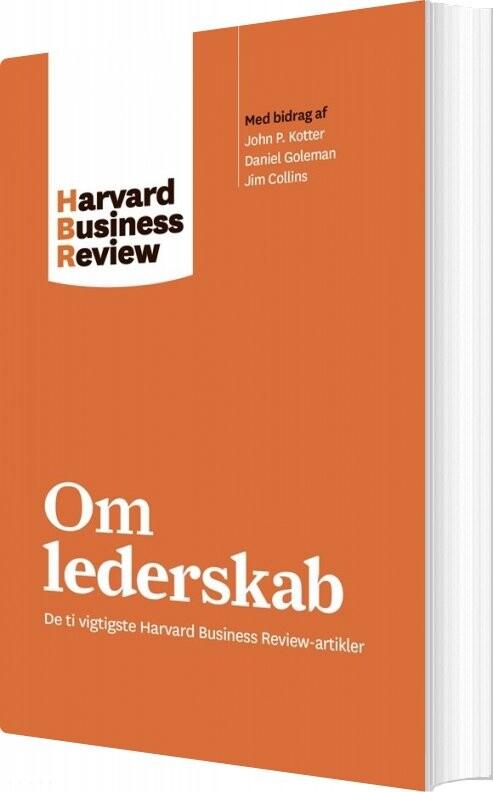 Image of   Om Lederskab - Harvard Business Review - Bog