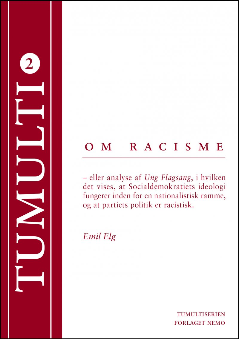 Om Racisme - Emil Elg - Bog