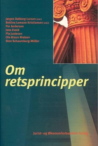 Image of   Om Retsprincipper - Kristiansen B - Bog