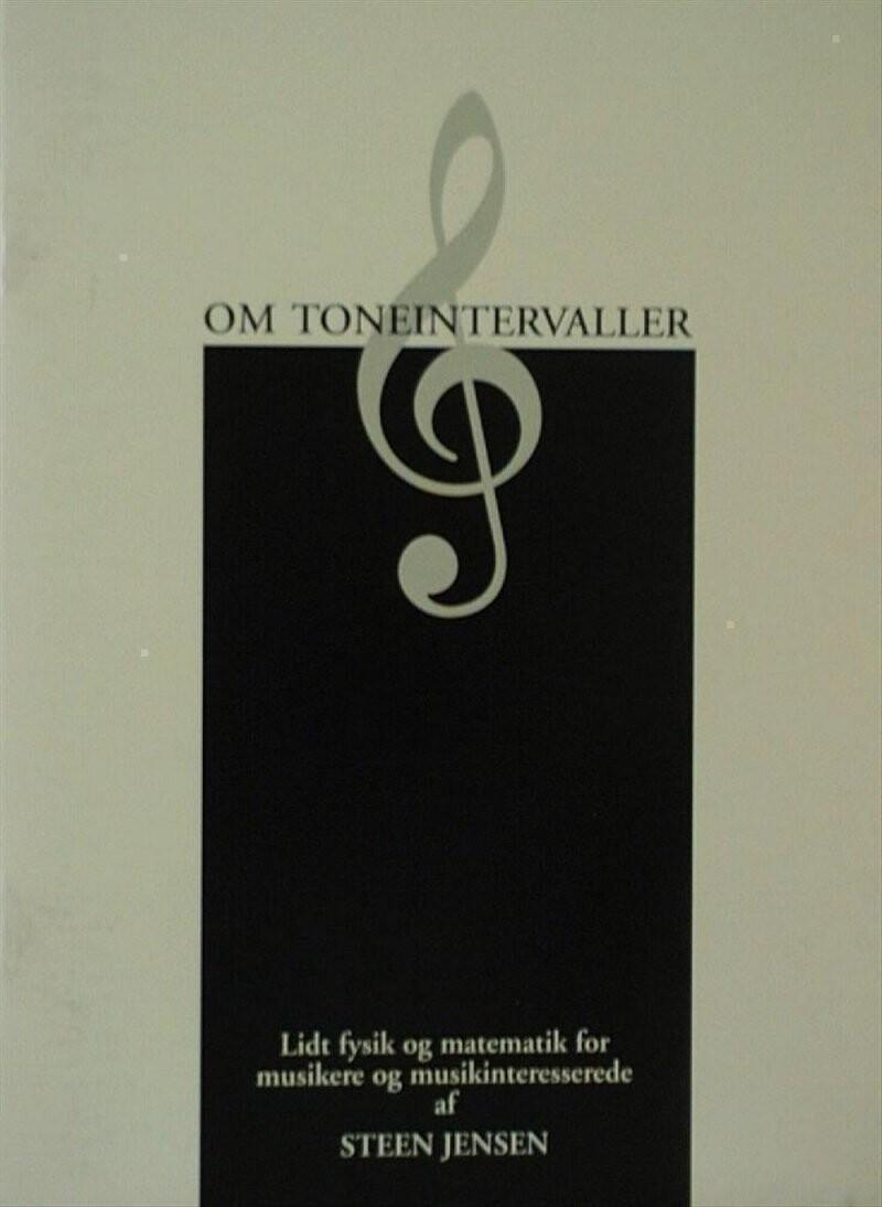Image of   Om Toneintervaller - Steen Jensen - Bog