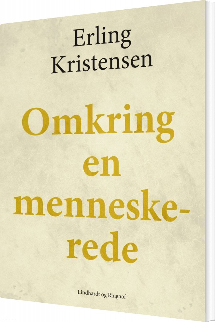 Image of   Omkring En Menneskerede - Erling Kristensen - Bog