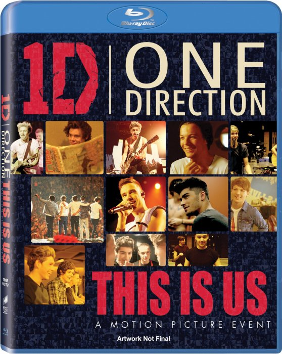 Image of   One Direction: This Is Us - Blu-Ray