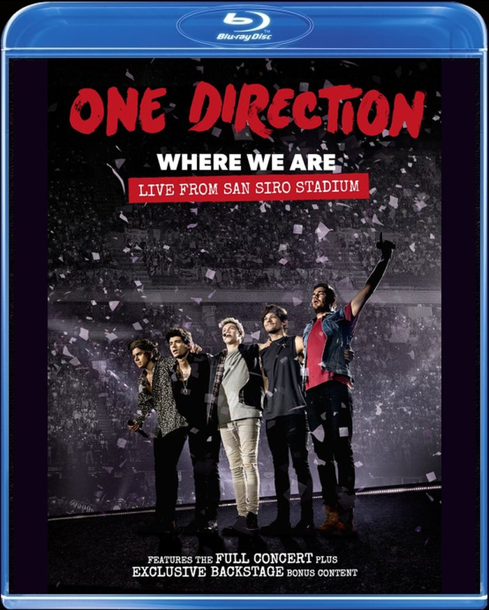 Billede af One Direction Where We Are - Live From San Siro Stadium - Blu-Ray