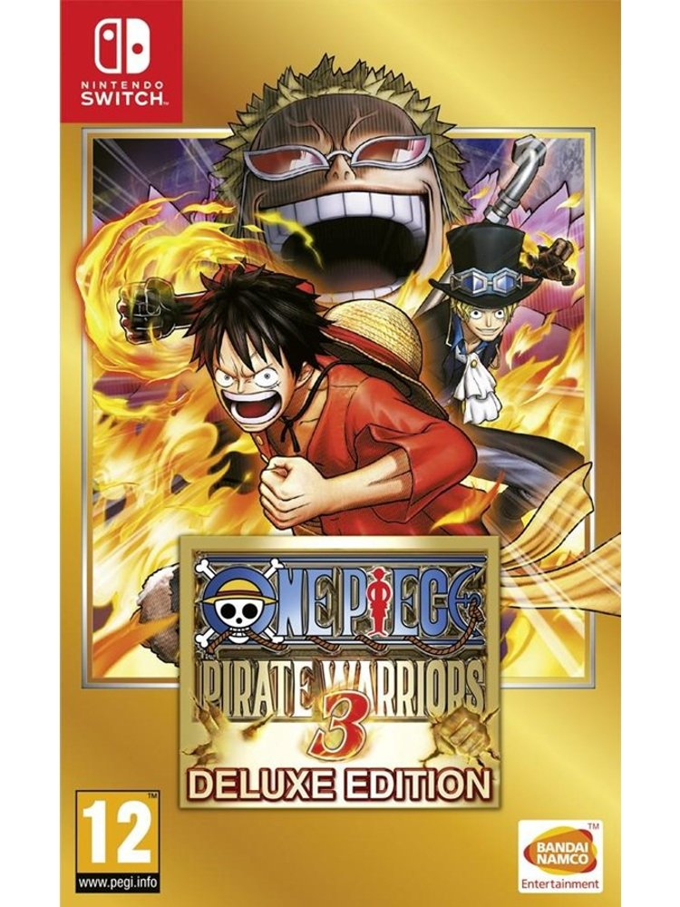 Image of   One Piece - Pirate Warriors 3 - Deluxe Edition - Kode I Boks - Nintendo Switch