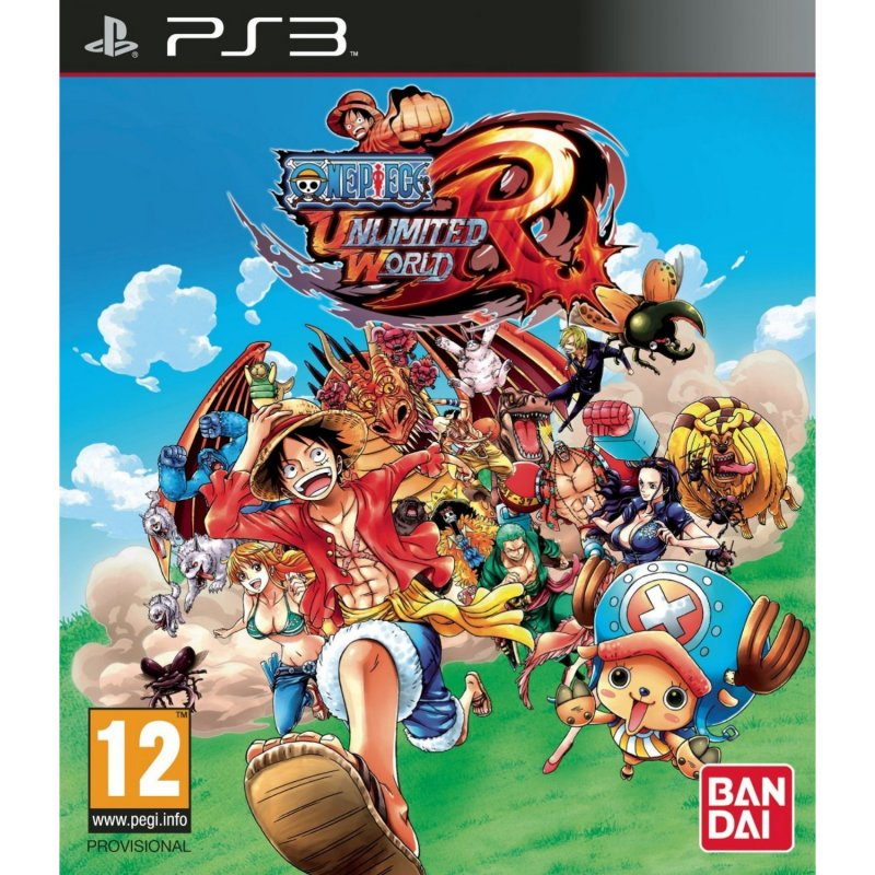 Image of   One Piece Unlimited World Red (import) - PS3