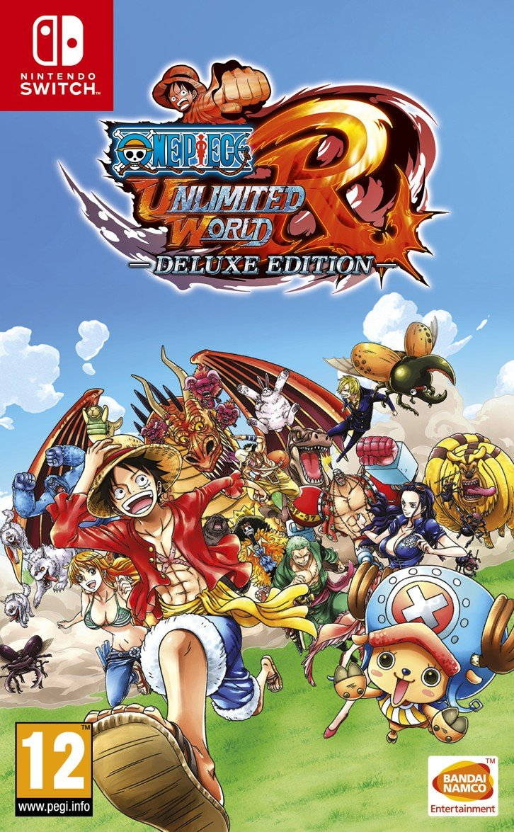 Image of   One Piece: Unlimited World Red - Nintendo Switch