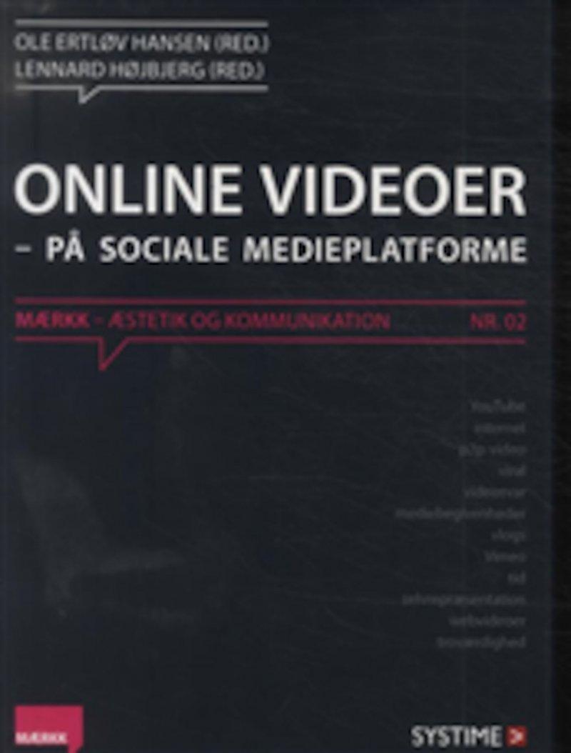 Image of   Online Videoer - På Sociale Medieplatforme. Nr. 02 - Diverse - Bog