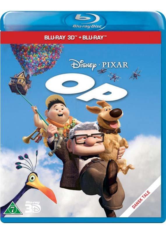 Billede af Op / Up - Disney Pixar (3d+2d Blu-ray) -