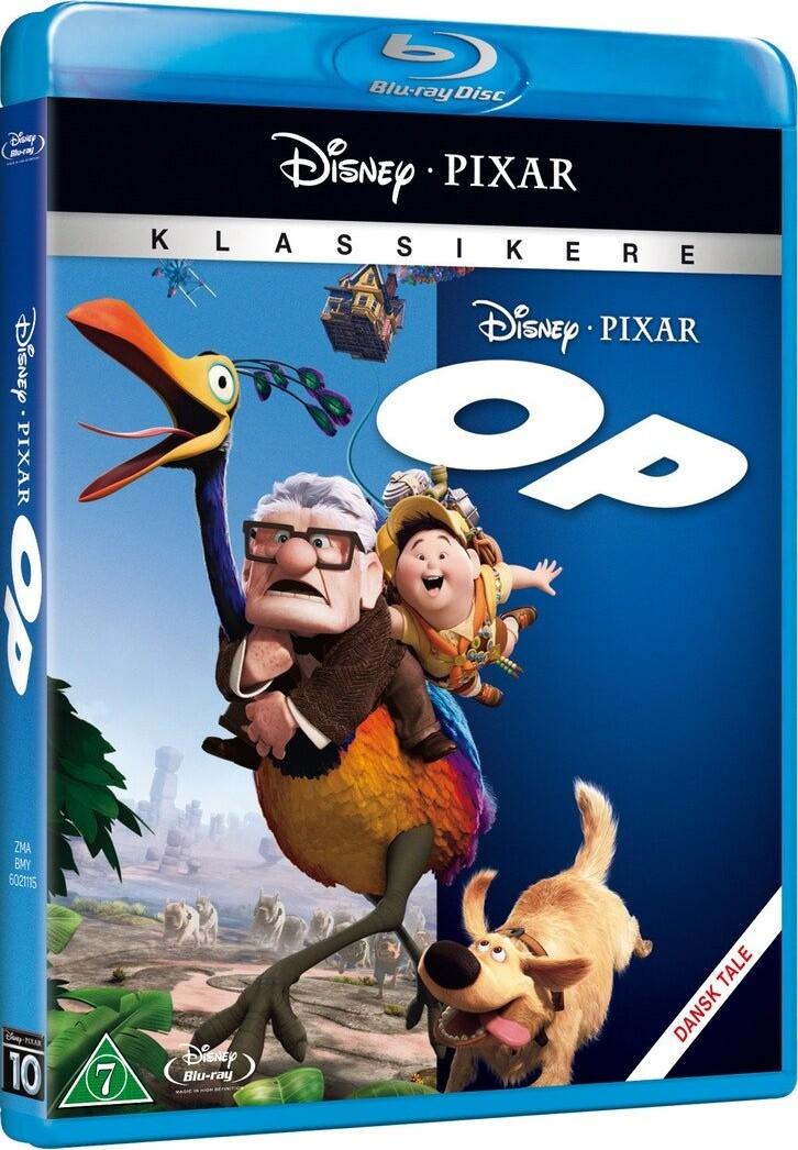 Billede af Op / Up - Disney Pixar - Blu-Ray