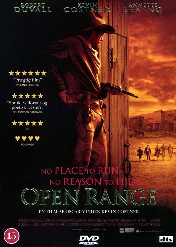Image of   Open Range - DVD - Film