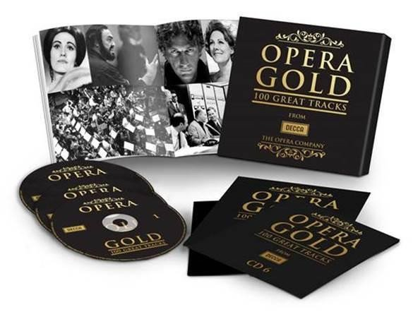 Image of   Opera Gold - 100 Great Tracks (6cd) - CD