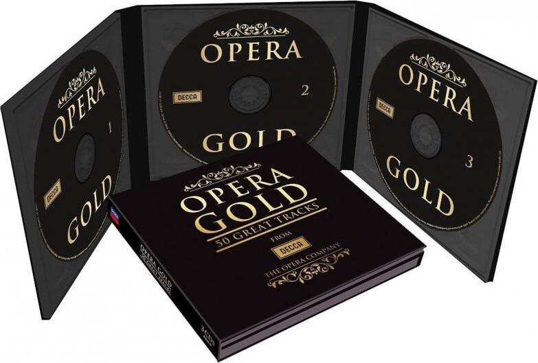 Image of   Opera Gold - 50 Greatest Tracks - CD