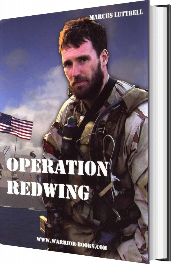 Operation Redwing - Marcus Luttrell - Bog
