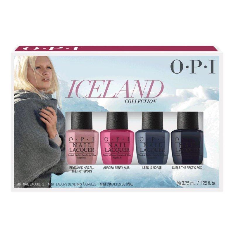 2a24a7f1d1c Dette Iceland Mini Neglelak Sæt fra OPI indeholder 4 smukke neglelakker.  Med dette sæt får du mulighed for at afprøve 4 neglelakker, som passer til  enhver ...