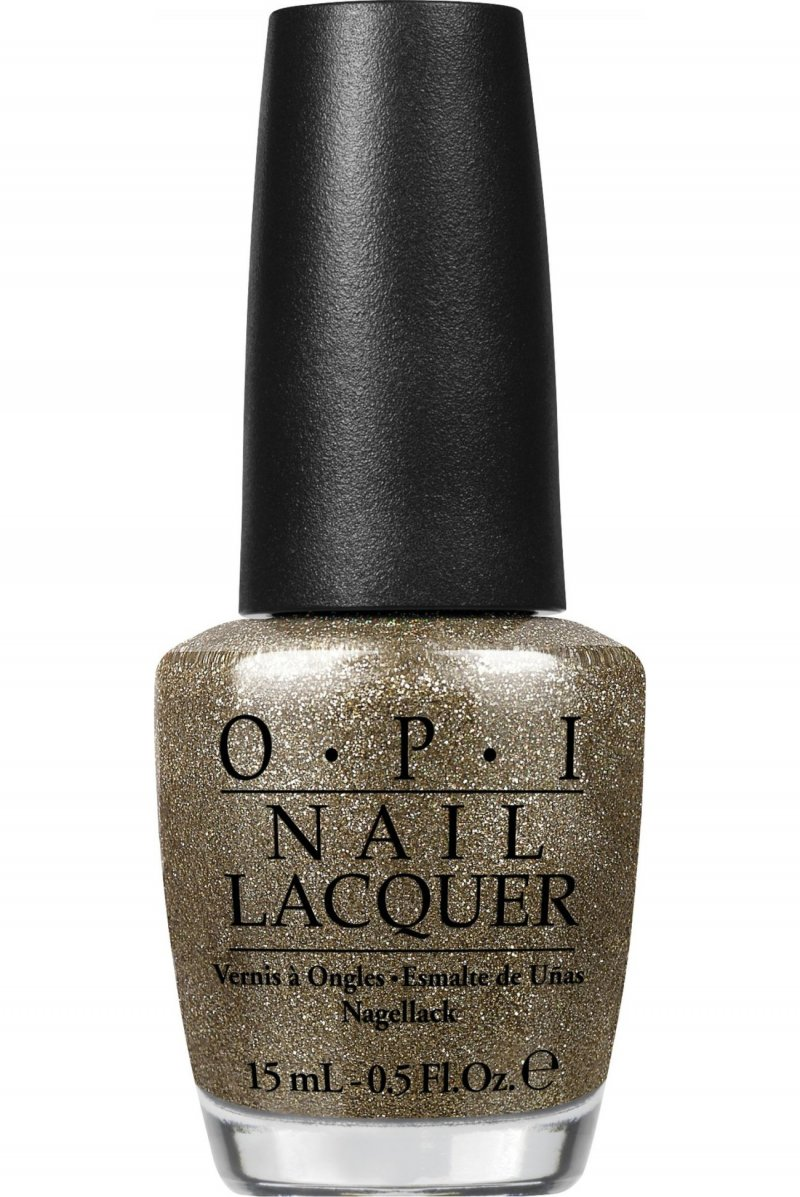 Image of   Opi Neglelak 15 Ml - All Sparkly And Gold
