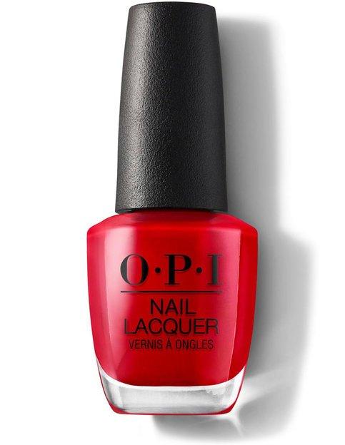 Image of   Opi Neglelak 15 Ml - Big Apple Red