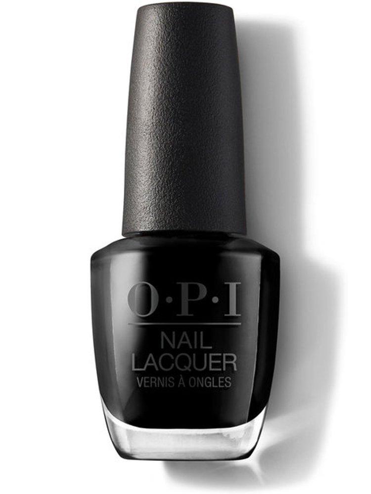 Image of   Neglelak / Negle Lak - Opi - Lady In Black - 15 Ml