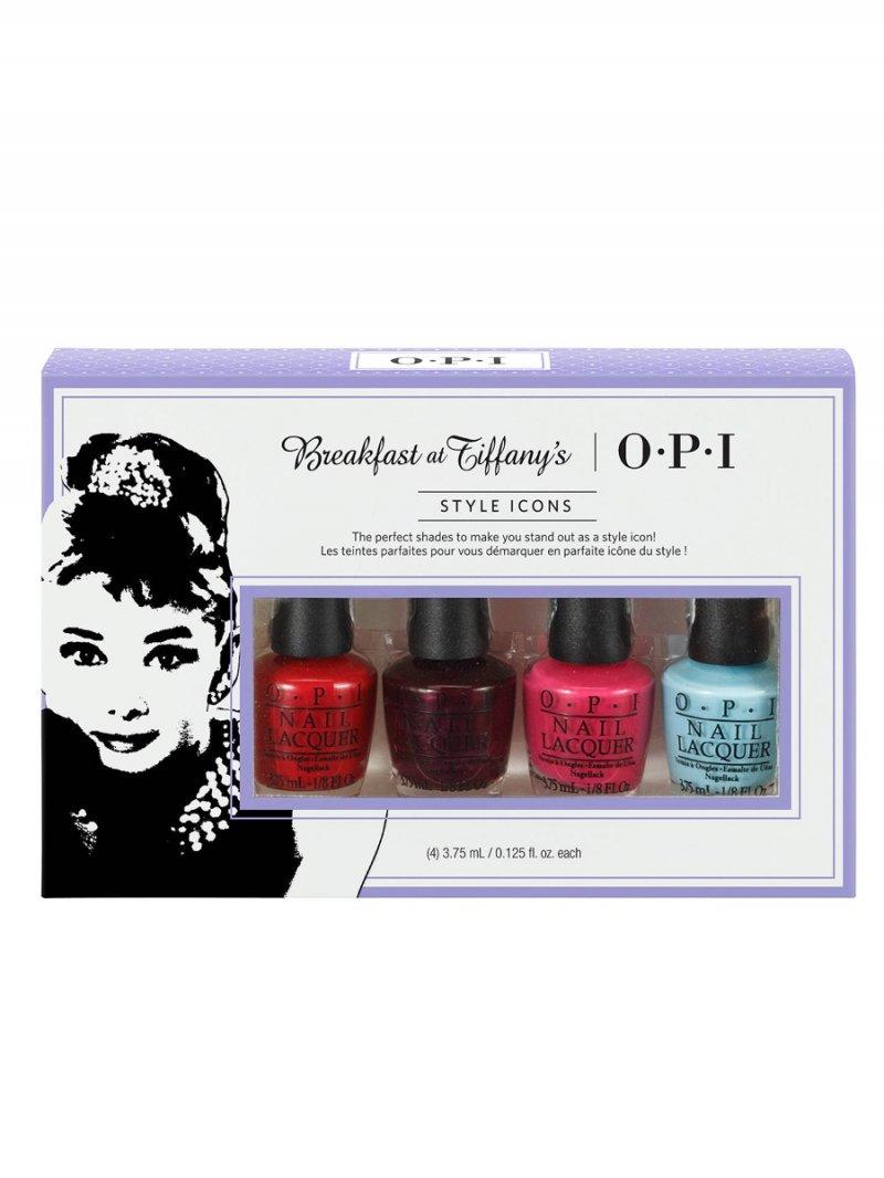a14c219eea1 Dette super lækre Breakfast At Tiffany's Minikit Neglelak Sæt fra OPI udgør  den perfekte gave til hende, der ønsker at gå med smukke farver, som stadig  er ...