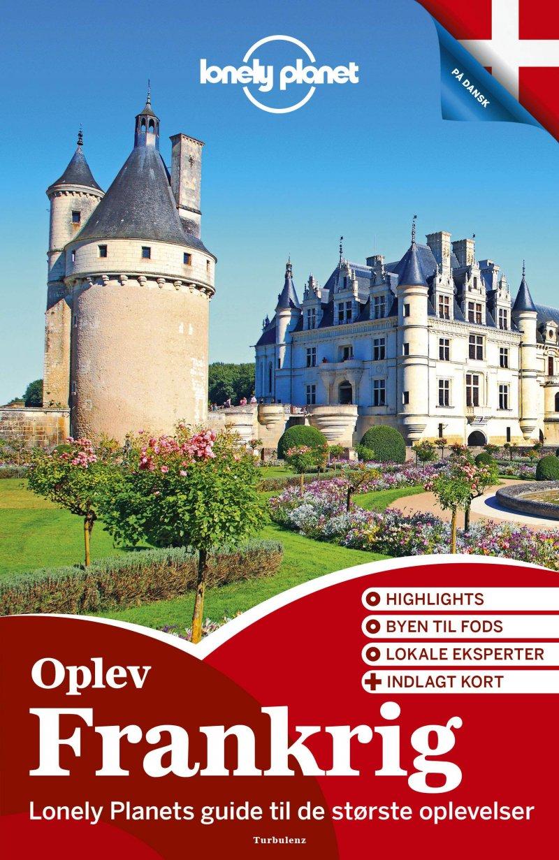 Oplev Frankrig - Lonely Planet - Bog