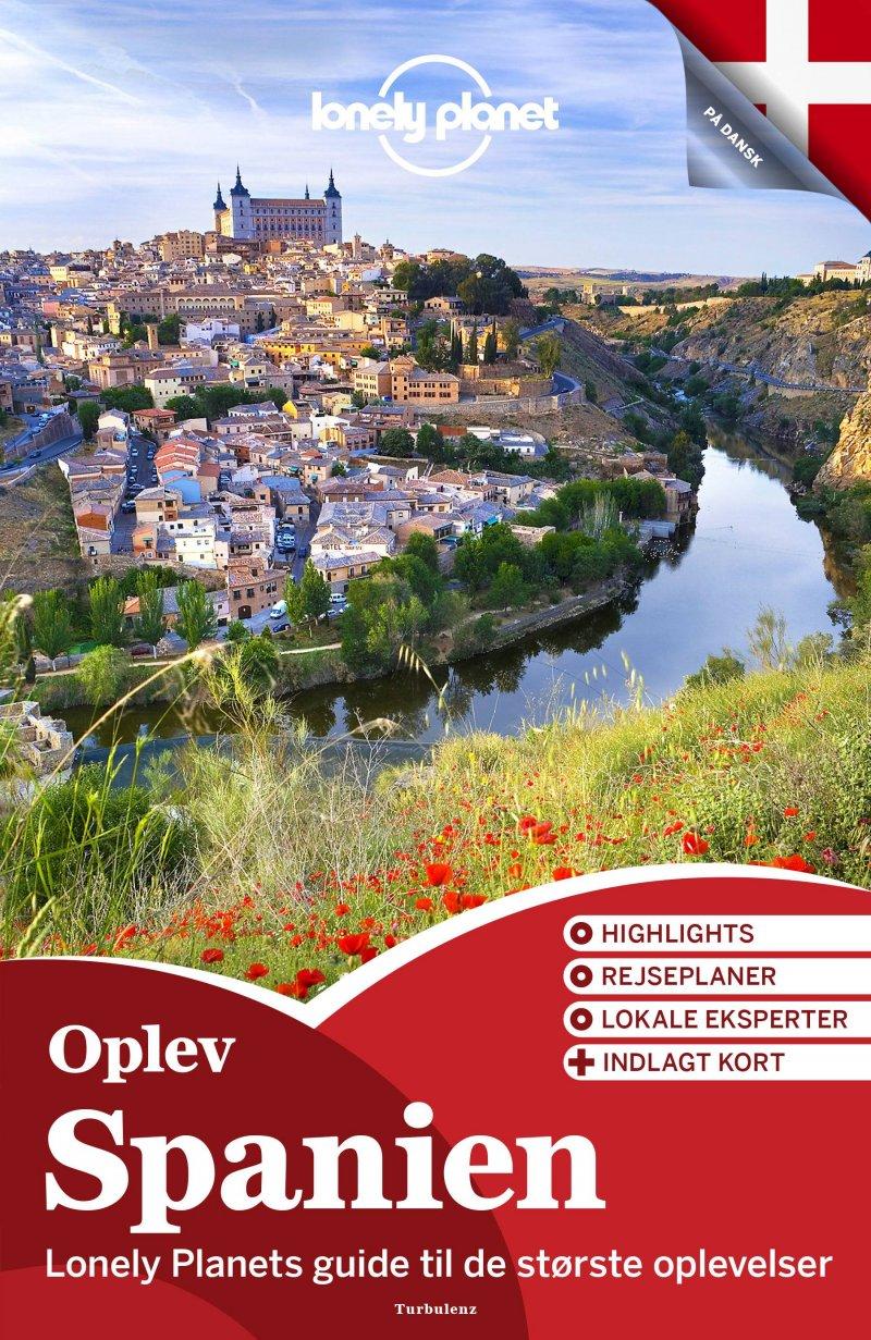 Oplev Spanien - Lonely Planet - Bog