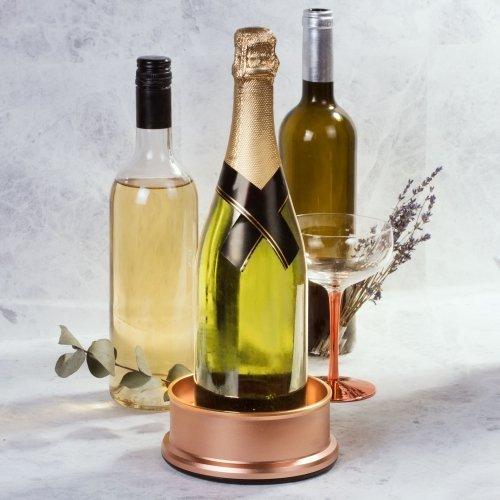 Image of   Flaske Dekoration Med Lys