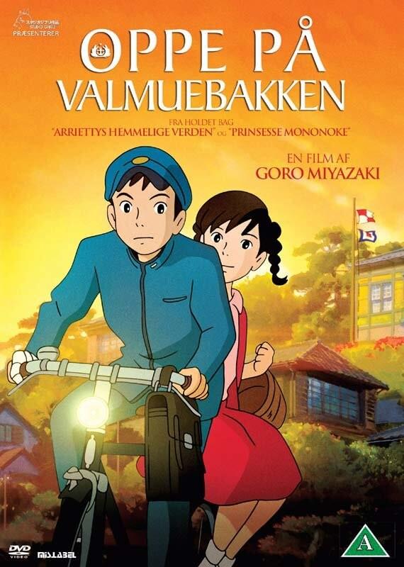 Billede af Oppe På Valmuebakken / From Up On Poppy Hill - DVD - Film