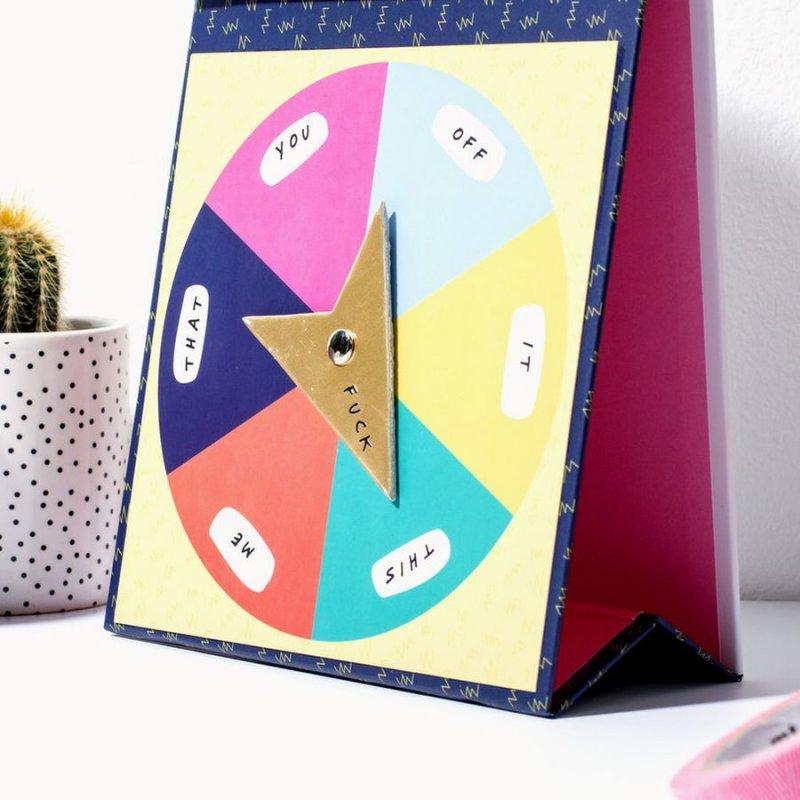 Image of   Optional F*cks - Genbrugelig Kalender