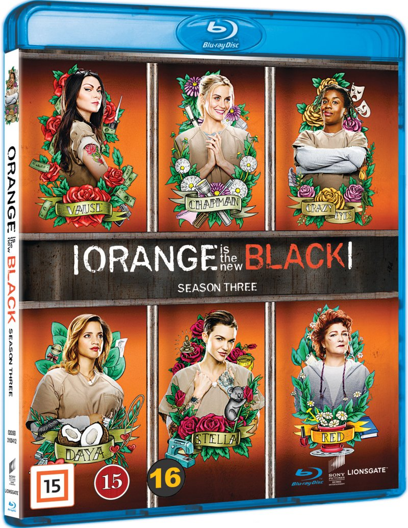 Orange Is The New Black - Sæson 3 - Blu-Ray - Tv-serie