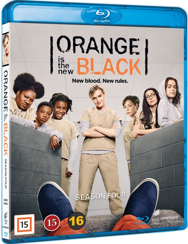 Orange Is The New Black - Sæson 4 - Blu-Ray - Tv-serie