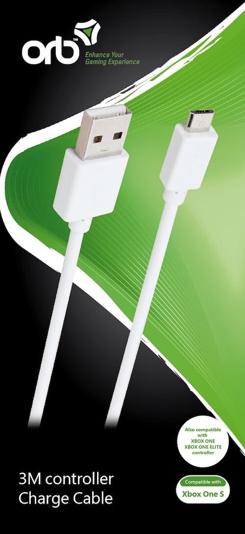 Image of   Xbox One Controller Ladekabel - 3m