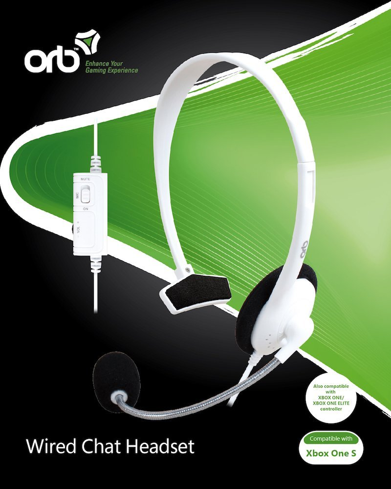 Image of   Orb Chat Høretelefoner Med Kabel Til Xbox One S