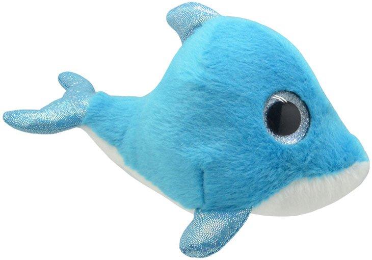 Delfin Bamse - Blå