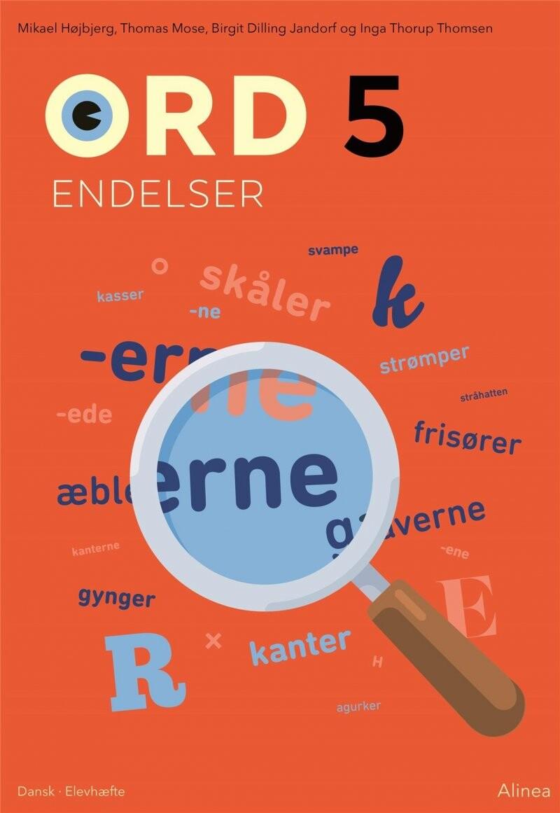 Image of   Ord 5. Endelser - Inga Thorup Thomsen - Bog