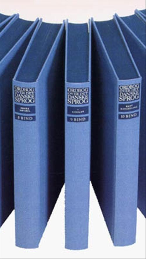 Ordbog Over Det Danske Sprog - Maria Krogh Langner Det Danske Sprog- - Bog