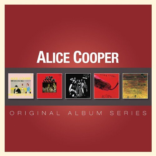 Image of   Alice Cooper - Original Album Series - CD