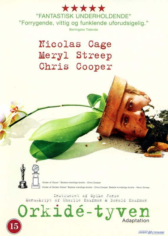 Image of   Adaptation / Orkide Tyven - DVD - Film
