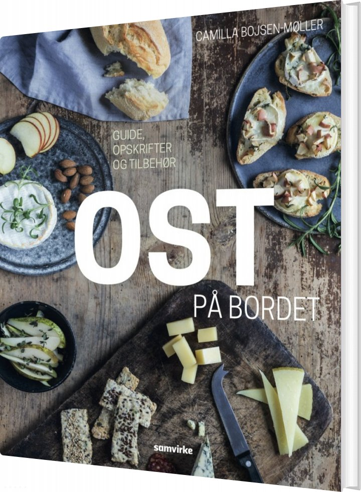Image of   Ost På Bordet - Camilla Bojsen-møller - Bog