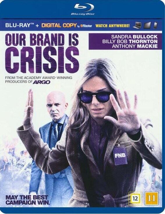 Billede af Our Brand Is Crisis - Blu-Ray