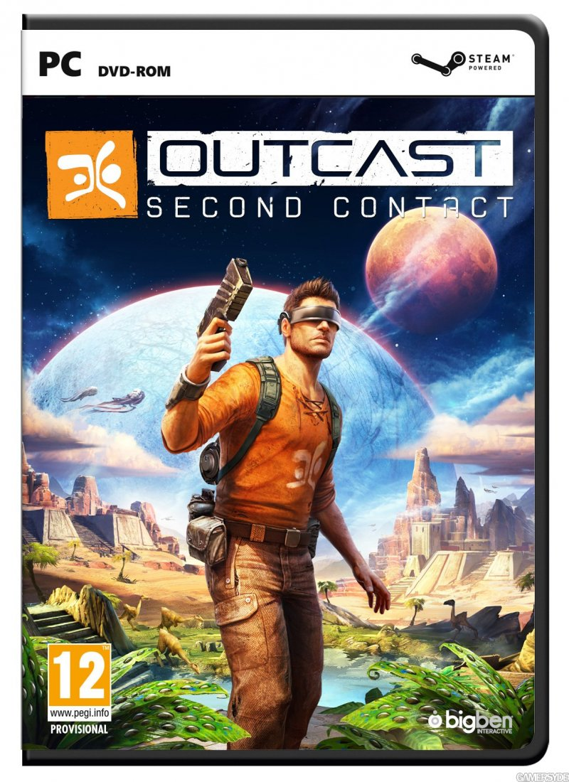 Image of   Outcast - Second Contact - PC
