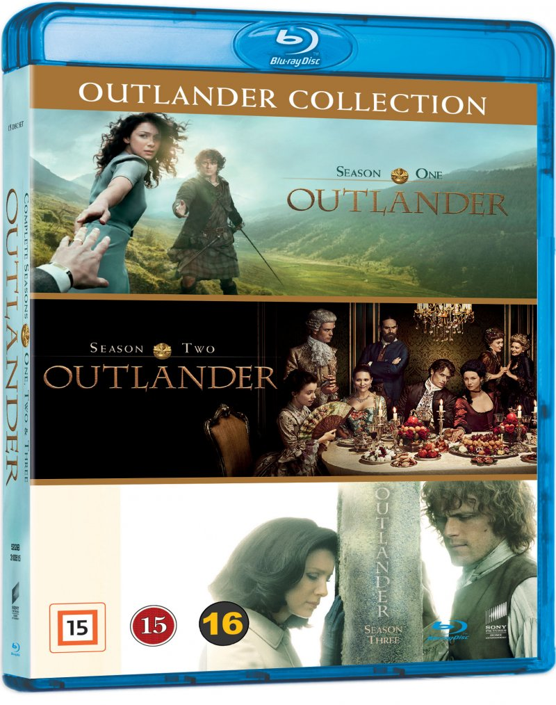 Outlander - Sæson 1-3 - Box Set - Blu-Ray - Tv-serie