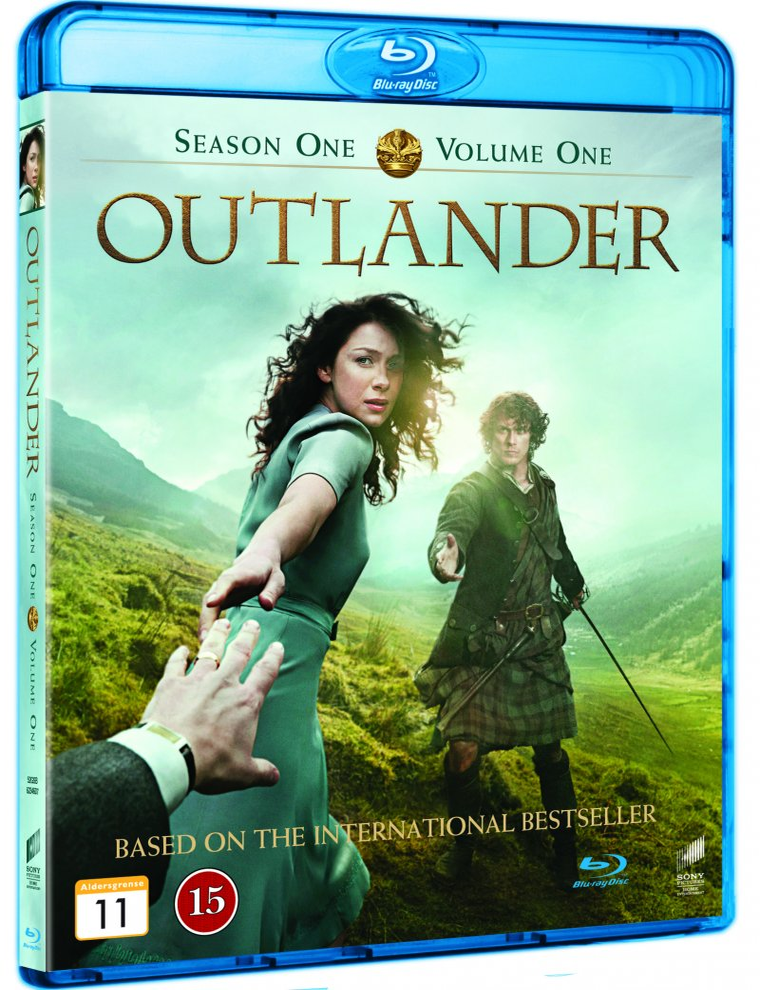Outlander - Sæson 1 - Volume 1 - Blu-Ray - Tv-serie