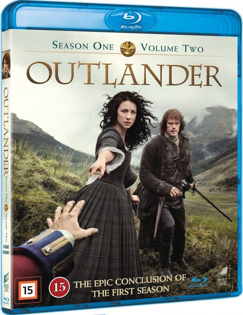 Outlander - Sæson 1 - Volume 2 - Blu-Ray - Tv-serie