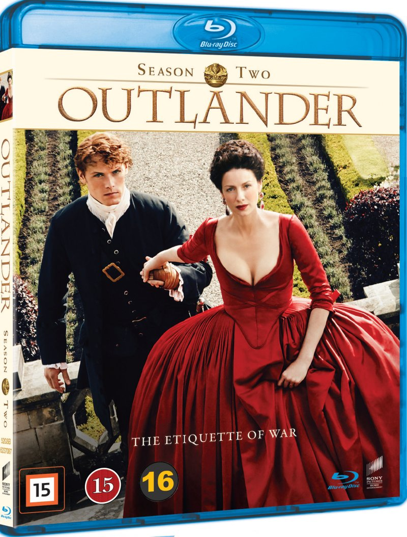 Outlander - Sæson 2 - Blu-Ray - Tv-serie