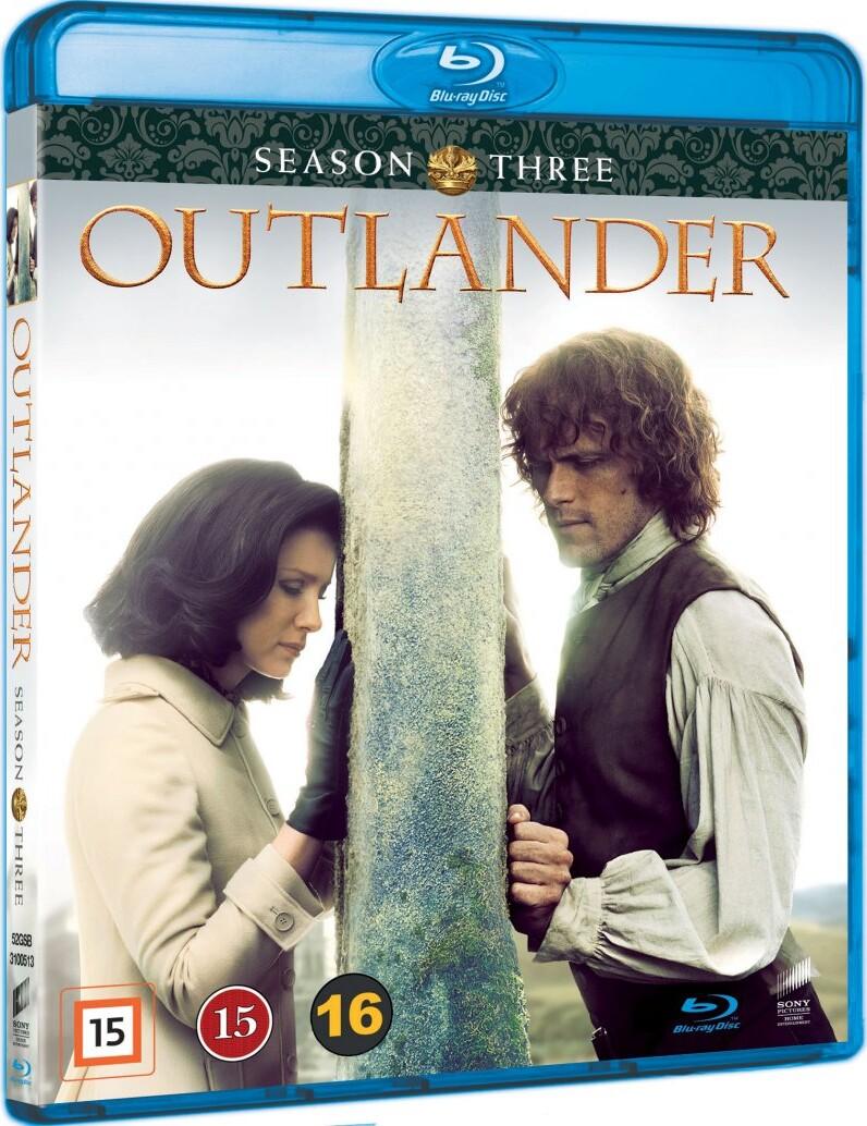 Outlander - Sæson 3 - Blu-Ray - Tv-serie