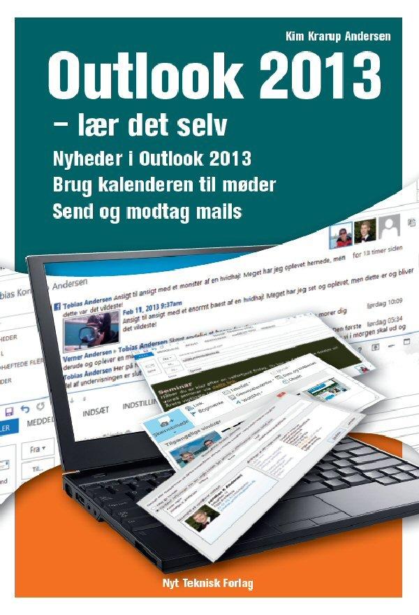 Billede af Outlook 2013 - Kim Krarup Andersen - Bog