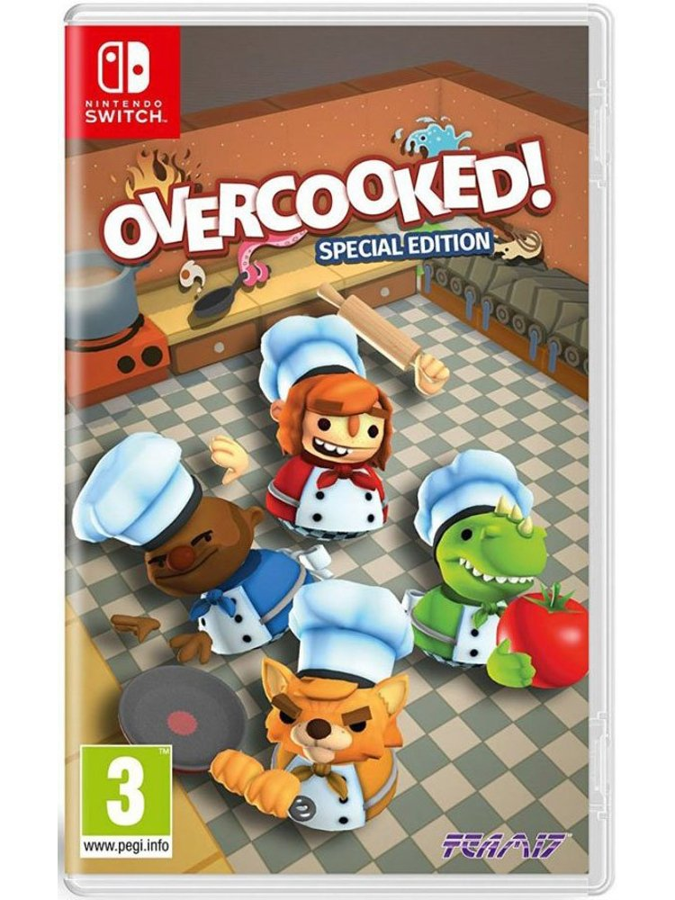 Overcooked - Special Edition - Nintendo Switch