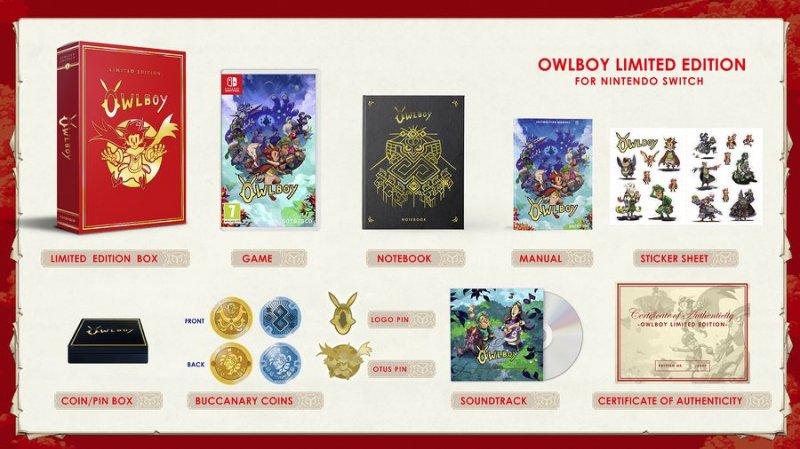 Owlboy: Limited Edition - Nintendo Switch