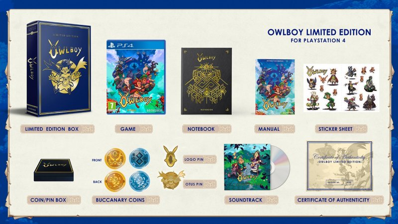 Image of   Owlboy: Limited Edition - PS4
