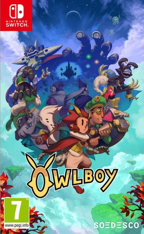 Image of   Owlboy - Nintendo Switch